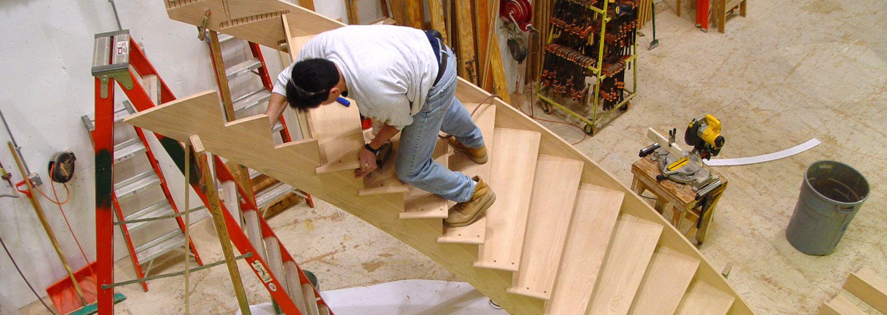 Cooper Stairworks Stair Shop Photo