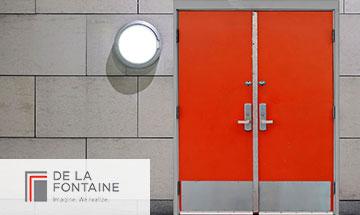 De La Fontaine Hollow Metal Door Photo