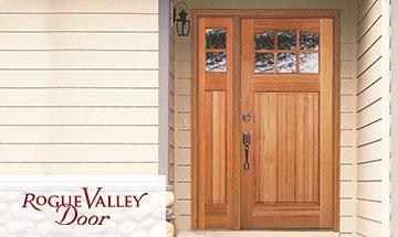 Rogue Valley Exterior Wood Door