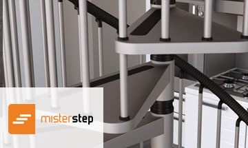 Mister Step Gamia Metal Spiral Stair Photo