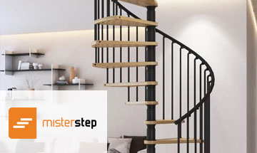 Mister Step Gamia Wood Spiral Stair Photo