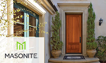 Masonite Exterior Wood Door Photo