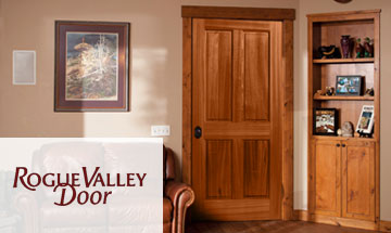 Rogue Valley 4 Panel Wood Interior Door Photo