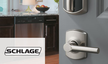 Schlage Exterior Door Hardware Photo