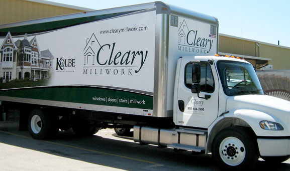 Cleary Millwork Truck Photo
