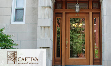 Captiva Wood Doors Interior Photo