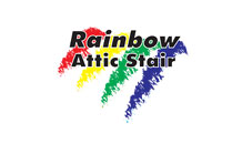Rainbow Attic Stairs