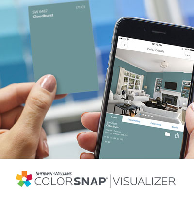 Sherwin Williams Color Snap App Photo