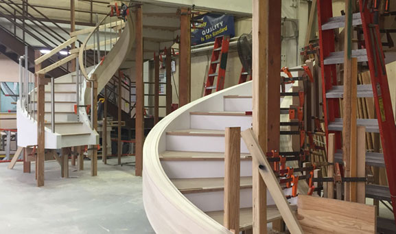 Custom Stair Deck Photo
