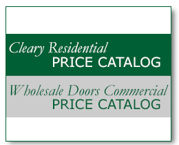 Cleary Millwork Online Price Catalogs