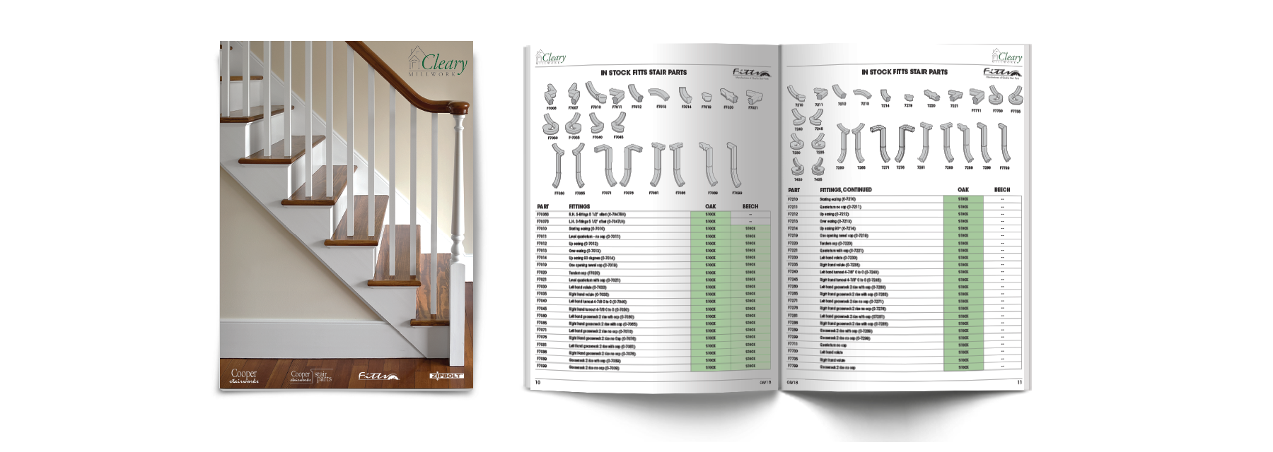 Cleary Stock Stair Catalog