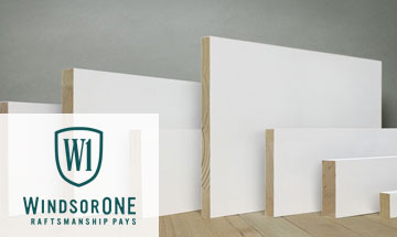 WindsorOne Trim S4S boards
