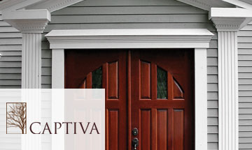 Captiva Exterior Wood Door