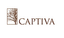 Captiva custom wood doors logo