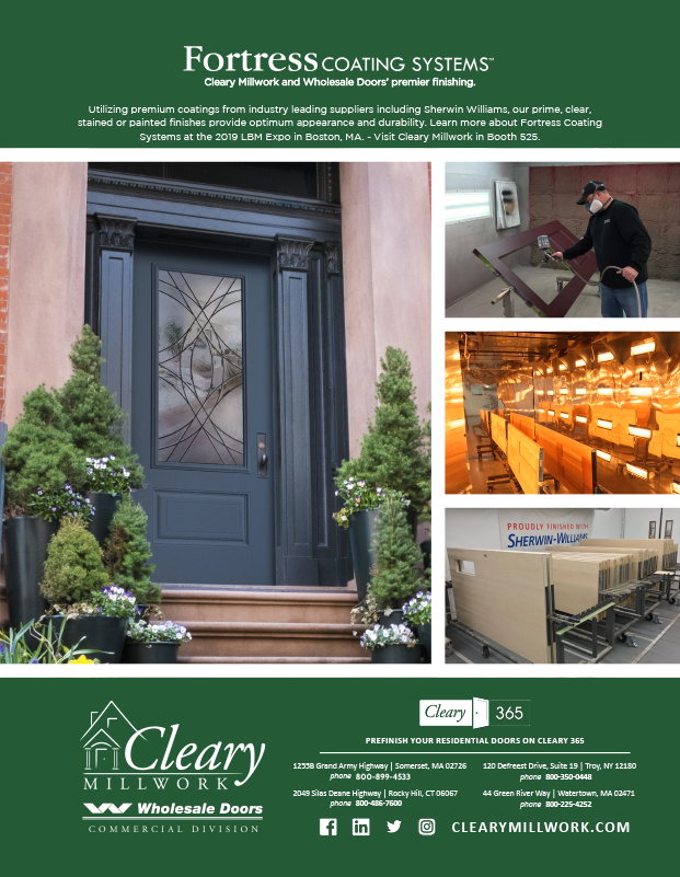 Cleary Lumber Co-Operator Ad Fortress
