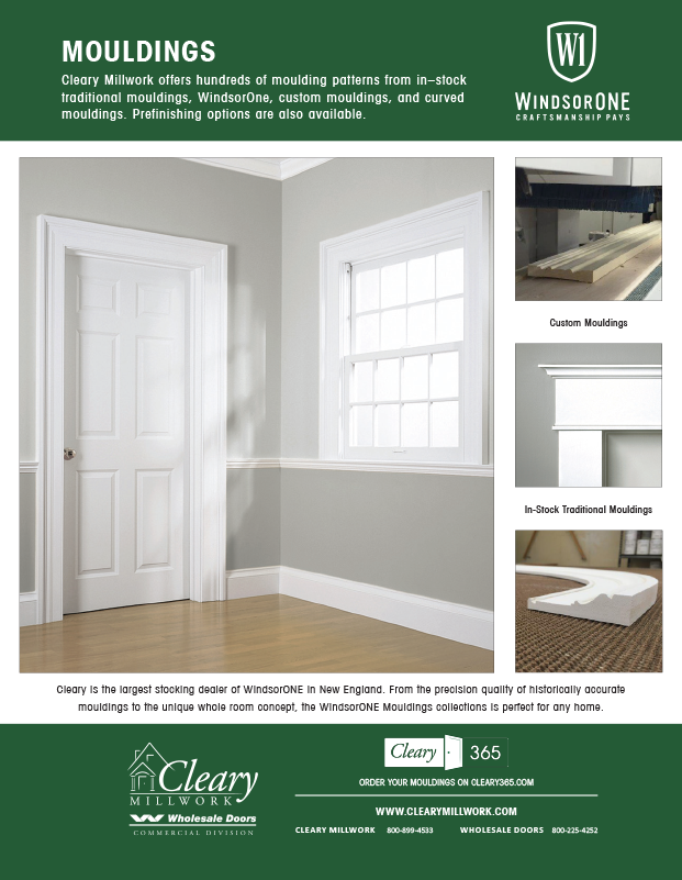 Cleary Lumber Co-Operator Ad Mouldings