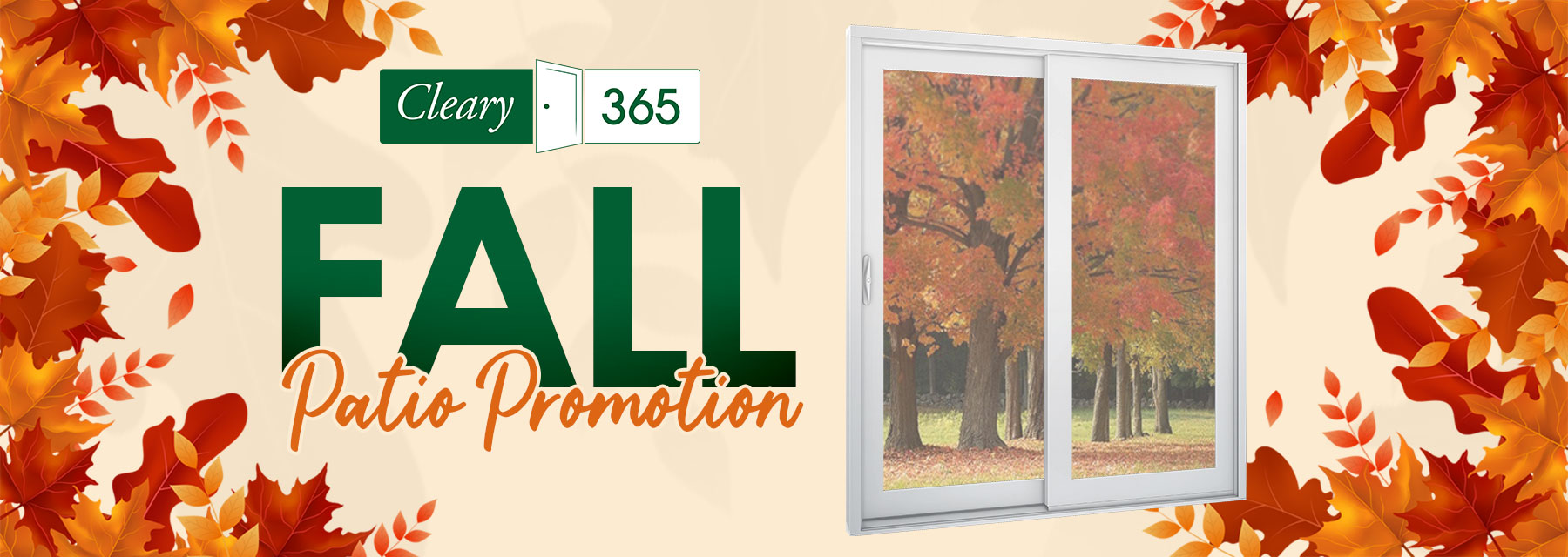 Cleary 2020 Fall Patio Promotion