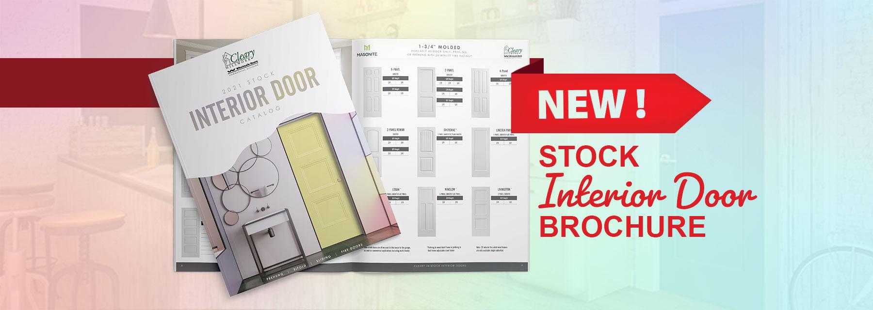 2021 Stock Interior Door Brochure